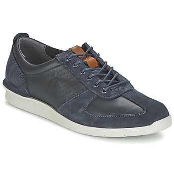 Sapatos Homem Sapatilhas Clarks POLYSPORT RUN Azul