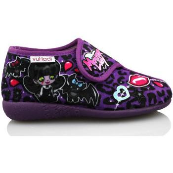 Sapatos Rapariga Chinelos Vulladi ALASKA DE IR POR CASA MORADO