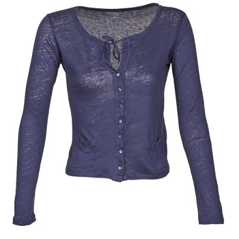Textil Mulher Casacos de malha Majestic BATHILDE Azul