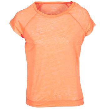 Textil Mulher T-Shirt mangas curtas Majestic 2105 Laranja / Fluo