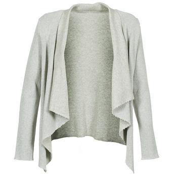 Textil Mulher Casacos de malha Majestic 4003 Cinza