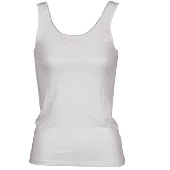 Textil Mulher Tops sem mangas Majestic 701 Branco