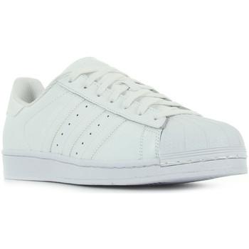 Sapatos Mulher Sapatilhas adidas Originals Superstar Foundation blanc