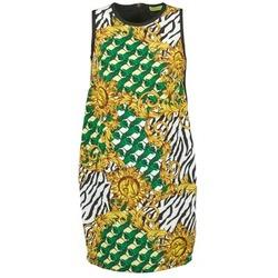 Textil Mulher Vestidos curtos Versace Jeans NDM909 BIS Preto / Multicolor