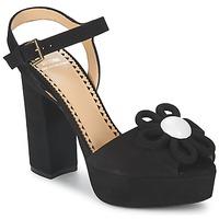 Sapatos Mulher Sandálias Moschino Cheap & CHIC CA1617 Preto