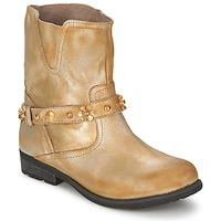 Sapatos Mulher Botas baixas Moschino Cheap & CHIC CA21013 Ouro