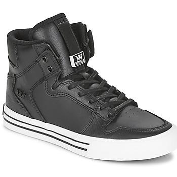 Sapatos Sapatilhas de cano-alto Supra VAIDER CLASSIC Preto / Branco