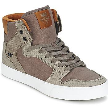 Sapatos Sapatilhas de cano-alto Supra VAIDER Castanho