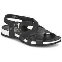 Sapatos Homem Sandálias Panama Jack FALCON Preto