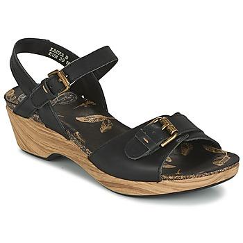 Sapatos Mulher Sandálias Panama Jack LAURA Preto