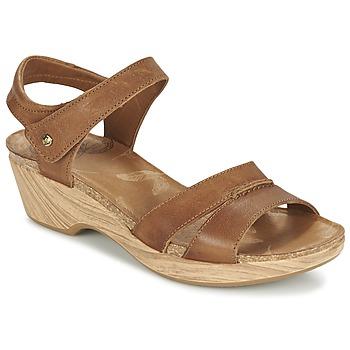Sapatos Mulher Sandálias Panama Jack LARISA Castanho