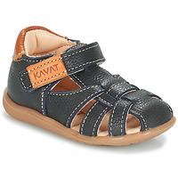Sapatos Rapaz Sandálias Kavat RULLSAND Azul / Marinho
