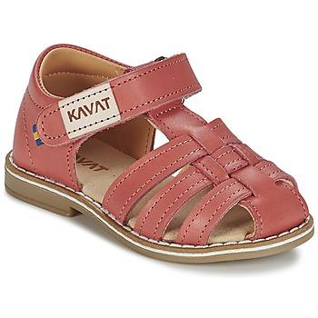 Sapatos Rapariga Sandálias Kavat FORSVIK Coral