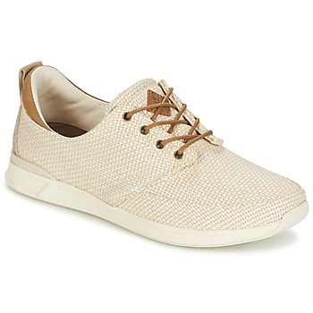 Sapatos Mulher Sapatilhas Reef ROVER LOW Bege