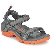 Sapatos Rapaz Sandálias desportivas Teva TANZA Cinza