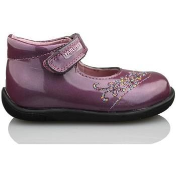 Sapatos Rapariga Sabrinas Pablosky GANGES MADRAS BAILARINA MORADO