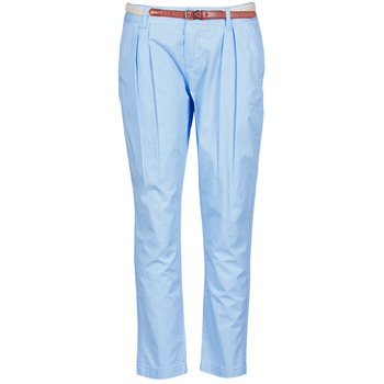 Textil Mulher Chinos La City PANTBASIC Azul