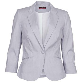 Textil Mulher Casacos/Blazers La City VST1D6 Cinza