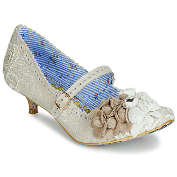 Sapatos Mulher Escarpim Irregular Choice DAISY DAYZ Bege / Multicolor