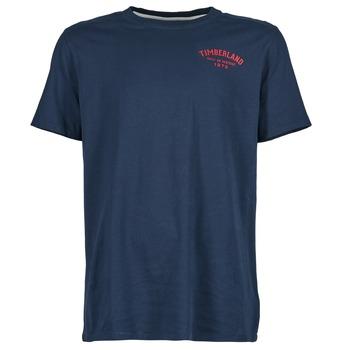 Textil Homem T-Shirt mangas curtas Timberland SS KENNEBEC RIVER Marinho