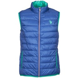 Textil Homem Quispos U.S Polo Assn. USPA LT PADDED VEST Azul