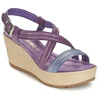Sapatos Mulher Sandálias Samoa JEBEMA Violeta / Azul