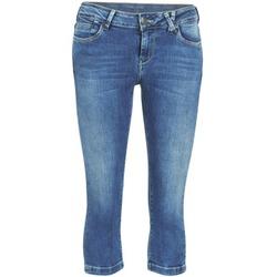 Textil Mulher Calças curtas Teddy Smith PANDOR COURT COMF USED Azul
