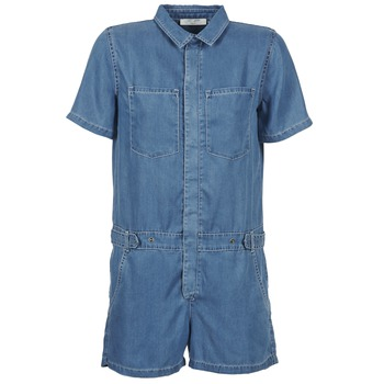 Textil Mulher Macacões/ Jardineiras Teddy Smith CALINCA DENIM LYOCELL Azul