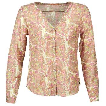 Textil Mulher camisas DDP GARDENIA Rosa / Verde