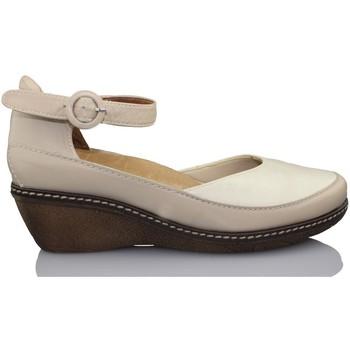 Sapatos Mulher Escarpim Calzamedi SANDALIA TANGON COMODA ORTO BEIGE
