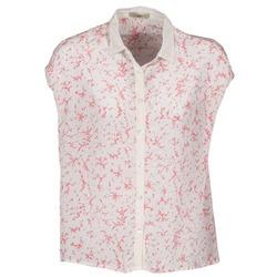 Textil Mulher Camisas mangas curtas Lola CANYON Branco / Vermelho