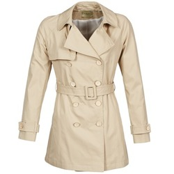 Textil Mulher Trench Lola MARDI Bege