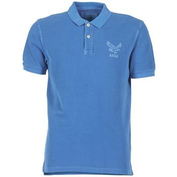 Textil Homem Polos mangas curta Aigle BELAQUA Azul