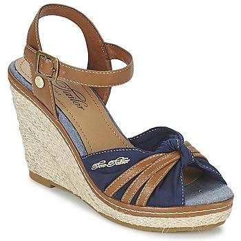 Sapatos Mulher Sandálias Tom Tailor BASTIOL Marinho