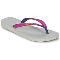 Sapatos Mulher Chinelos Havaianas TOP MIX Branco / Rosa
