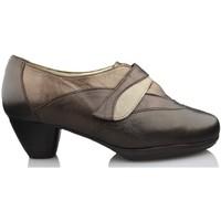Sapatos Mulher Escarpim Drucker Calzapedic ZAPATO TACON MUJER COMODO MARRON