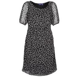 Textil Mulher Vestidos curtos Mexx 13LW130 Preto / Branco