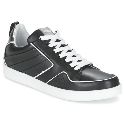 Sapatos Mulher Sapatilhas Kenzo K-FLY Preto / Prateado