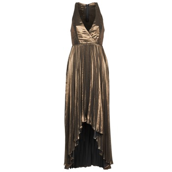 Textil Mulher Vestidos compridos Manoukian 612556 Ouro