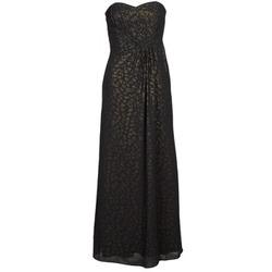 Textil Mulher Vestidos compridos Manoukian 612930 Preto / Ouro