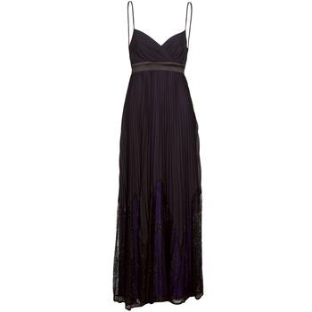 Textil Mulher Vestidos compridos Manoukian 612933 Preto