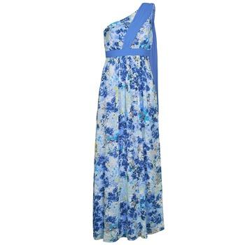 Textil Mulher Vestidos compridos Manoukian 613356 Azul