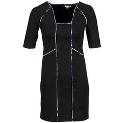 Textil Mulher Vestidos curtos Manoukian 613369 Preto