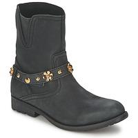 Sapatos Mulher Botas baixas Moschino Cheap & CHIC CA21013G1ZCE Preto