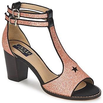 Sapatos Mulher Sandálias C.Petula JAIMIE Dourado / Rosa