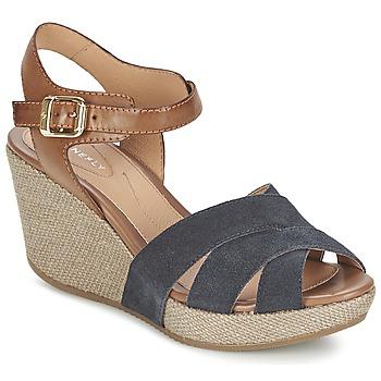 Sapatos Mulher Sandálias Stonefly MARLENE Marinho / Castanho