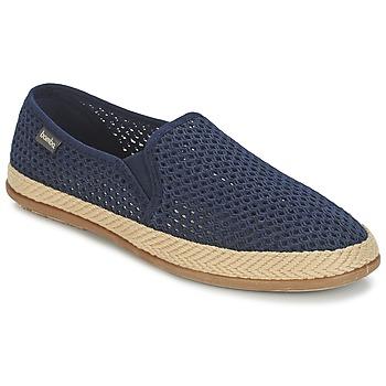 Sapatos Homem Slip on Victoria COPETE ELASTICO REJILLA TRENZA Marinho