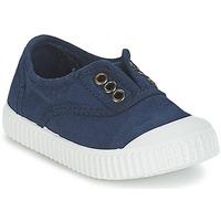 Sapatos Criança Sapatilhas Victoria INGLESA LONA TINTADA Marinho