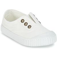 Sapatos Criança Sapatilhas Victoria INGLESA LONA TINTADA Branco