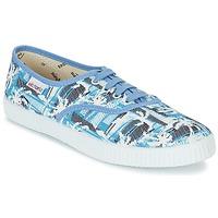 Sapatos Sapatilhas Victoria INGLES PALMERAS Azul